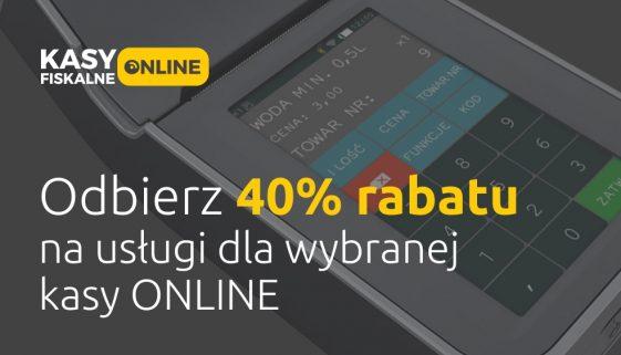 Rabat na kasy online